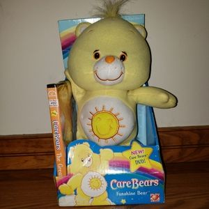 Nostalgic Funshine Care Bear🐻 with DVD 📀